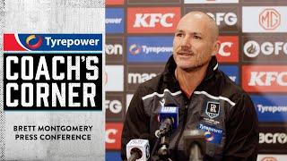 Brett Montgomery press conference - 17 May 2021