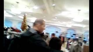 Zinedine Zidane Harrods Londra - Shopping - with wife & son