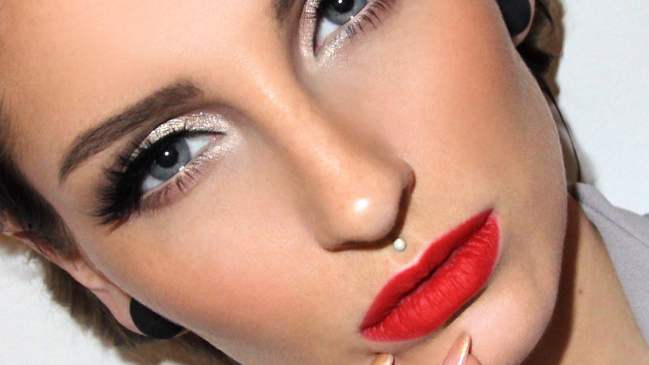 decades series 50s full glam makeup tutorial glamorous