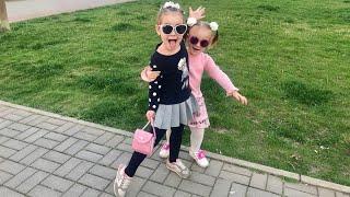 ВЛОГ Шоппинг с мамой Алина и Юляшка покупают игрушки Рецепт вкуснейшего пирога