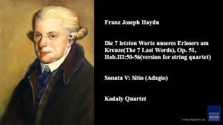 Franz Joseph Haydn, Sonata V: Sitio (Adagio)