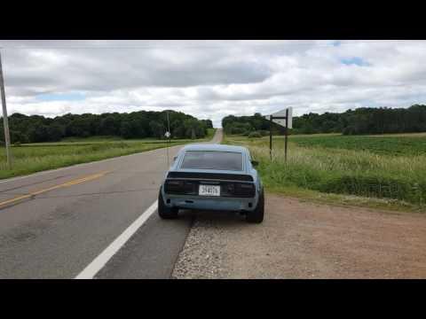 "Datsun 280Z LS2 3"" X-pipe, Dynomax Race Bullet 24222"