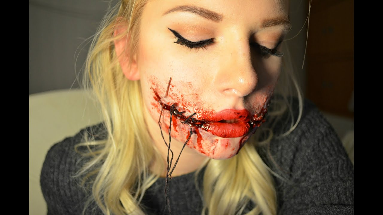 Chelsea Smile Makeup Tutorial SFX - YouTube