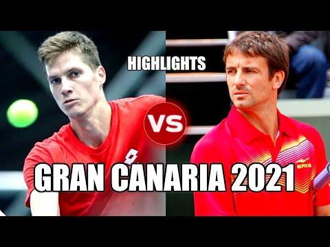 Nino Serdarusic vs Tommy Robredo GRAN CANARIA 2021