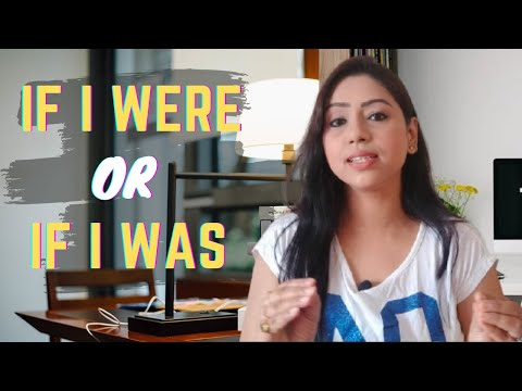If I were you or if I was you | Difference between I was and I were | Learn English Speaking