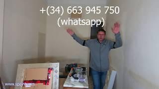 Пример ремонта квартиры в Аликанте, Испания, часть 2, полный разгром, ответы по работе в SpainTur