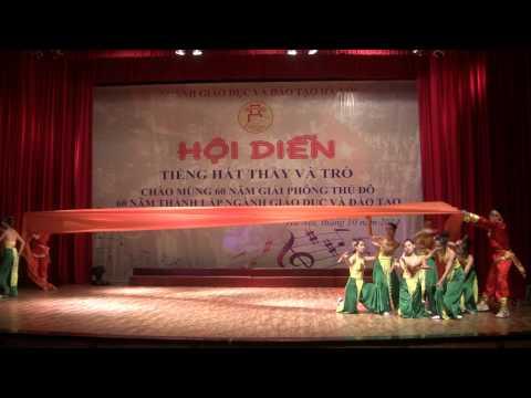 Múa: Sóng lụa ven đô - Trường THCS Nam Từ Liêm