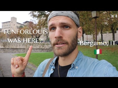 FUNFORLOUIS WAS HERE?! - BERGAMO & VERNAZZA, ITALY TRAVEL VLOG