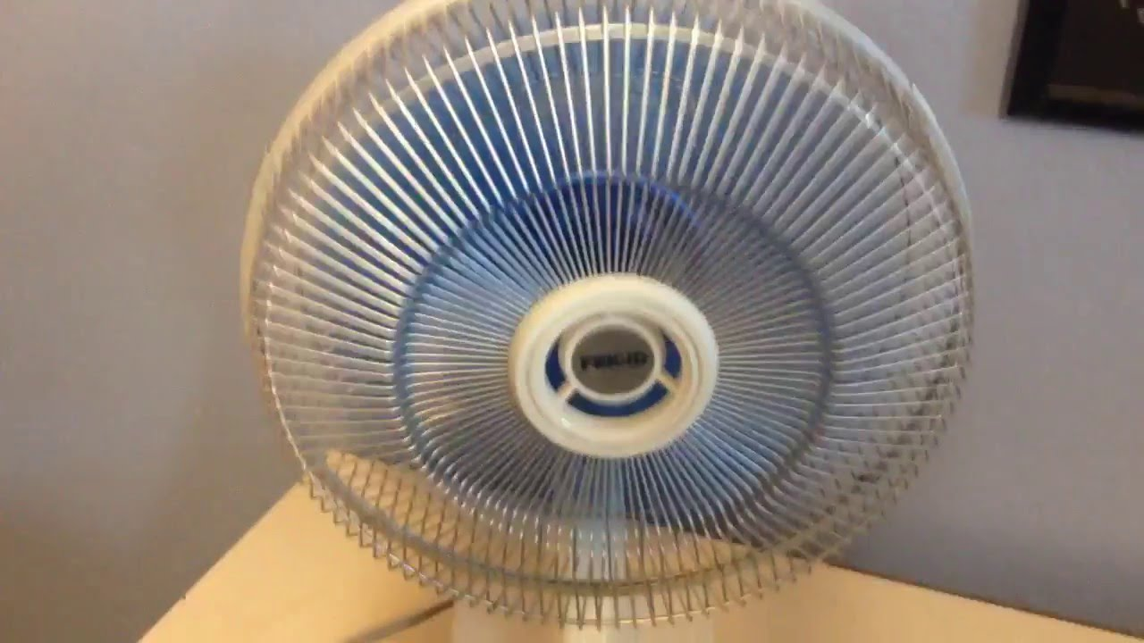 First Electric Fan : S goldstar frigid quot double oscillating desk fan