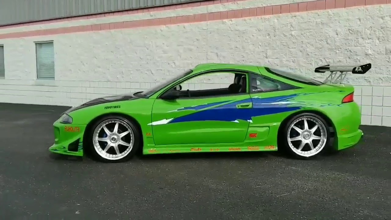 for sale the fast and the furious paul walker tribute replica eclipse gst youtube the fast and the furious paul walker