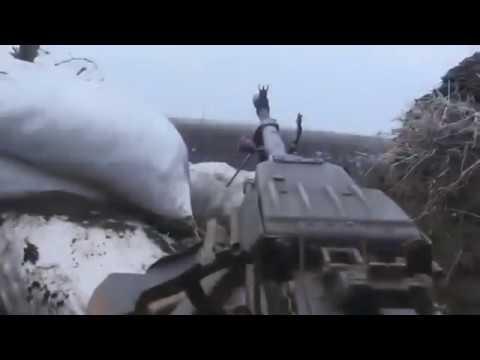 Украинские военные под