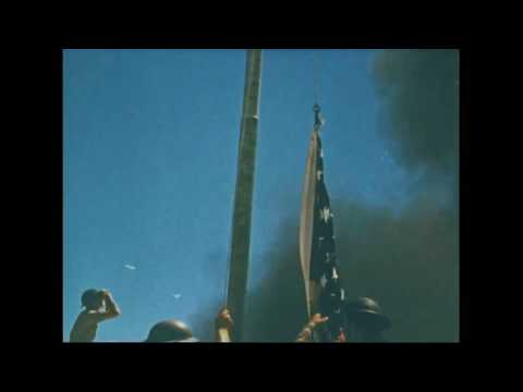 [Rare Footage] Marine Corps hoisting the American Flag 🇺🇸