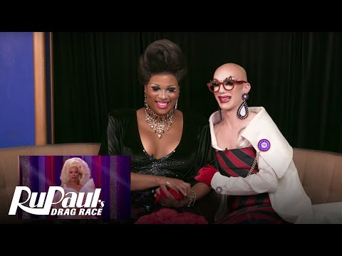 Sasha Velour & Peppermint's Reaction Video To Season 9 Finale | RuPaul's Drag Race | Now On VH1