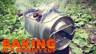 Baking With a Stanley Cook Cup and a Firebox Nano