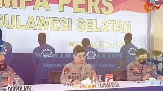 @Liputan4,Dit Polairud Polda Sulawesi Selatan Ungkap Kasus Bom Ikan di 8 Lokasi.
