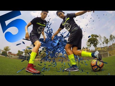 5 FORMAS de BURLAR a tu RIVAL de manera ESPECTACULAR en el FUTBOL ⚽️ Los Mejores REGATES