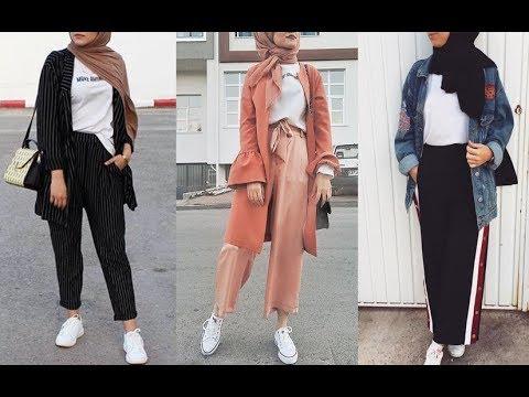 e225c36ef2a44 تنسيق ملابس محجبات للخريف 2019 Early Autumn Hijab Lookbook - Part 2 ...