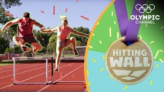 Can Austin and Julian keep up with Emma Coburn's steeplechase workout? | Hitting the Wall