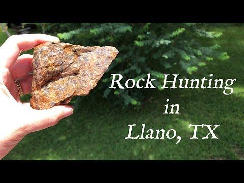 Llano, TX - Family Rock Hunting Trip 2019