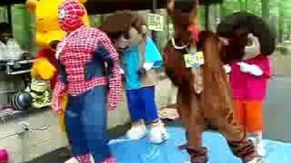 Bubbles der Clown von Wanda & Comic-Figuren Tanzen
