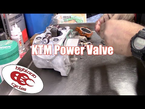 KTM 2 Stroke Powervalve