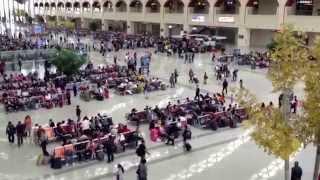 中国東北部の旅  2013   09  Part  15 哈大高速鉄道 哈爾浜西駅
