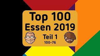 Top 100 Neuheiten der Spiel 2019 in Essen - Teil 1 (100-76)