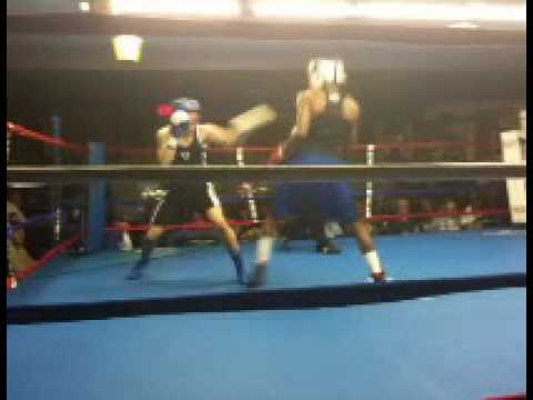 Anthony Carter Fast Lane Boxing 141 Novice