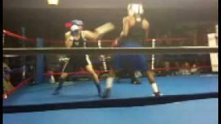 Anthony Carter Fast Lane Boxing 141 Novice