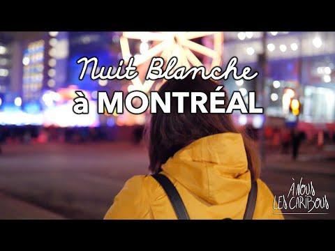 MONTRÉAL - Au coeur de la Nuit Blanche 2018
