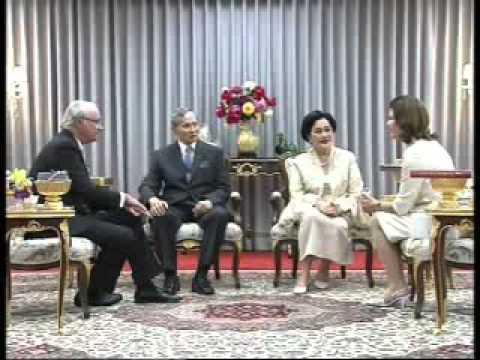 King of Sweden in Thailand Feb2011