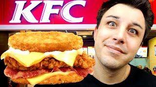 DEGUSTATION KFC ROSTI RACLETTE BURGER !
