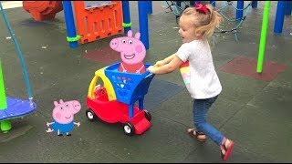 Peppa Pig This Little Piggy Went to Market Kids Song 2 | Pop...