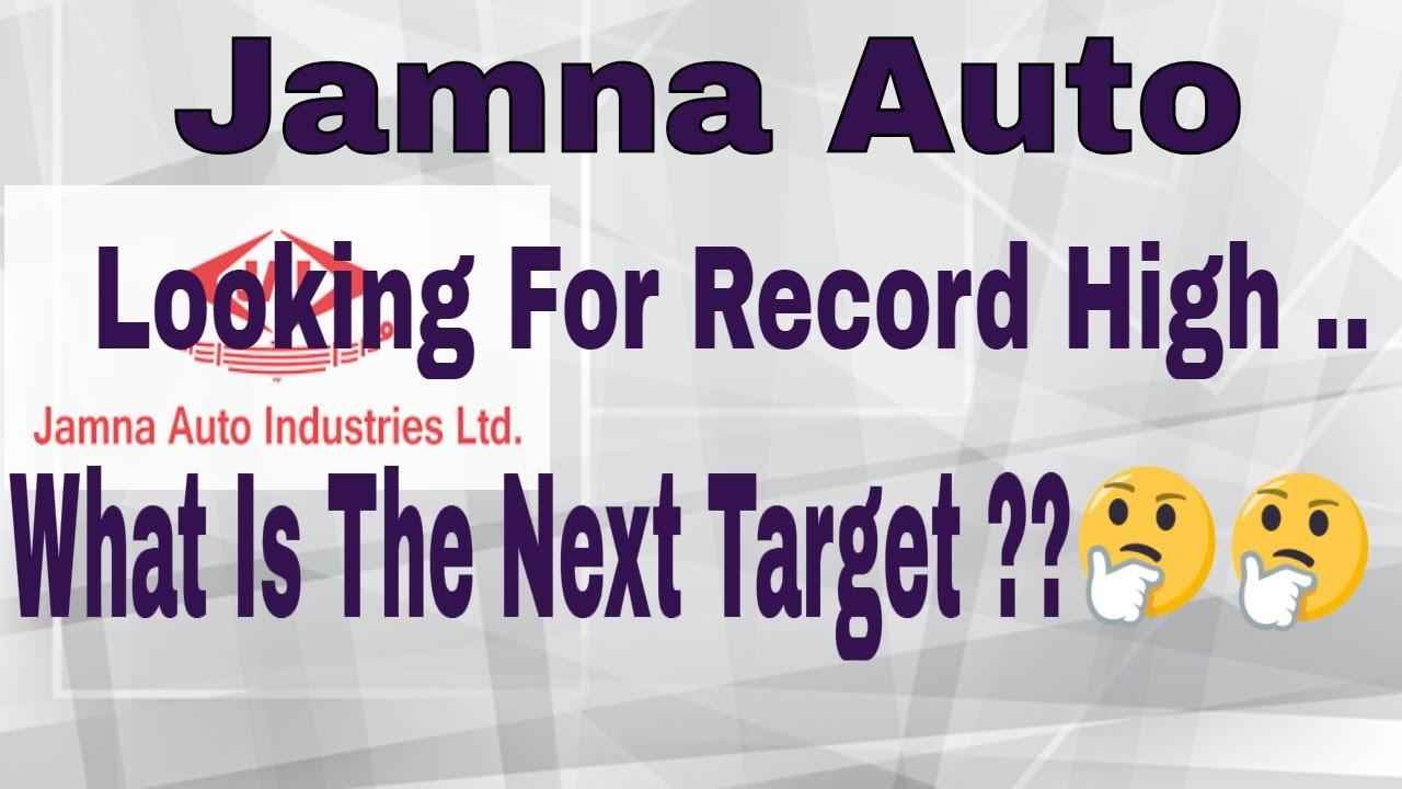 jamna auto share price