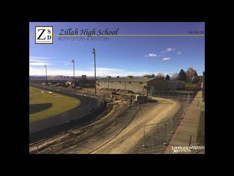 Time-lapse of Zillah High School Modernization & Additions 1