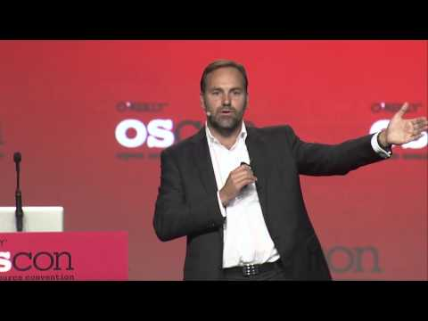 "OSCON 2013:  Mark R. Shuttleworth, ""Redefining Whats Possible"""