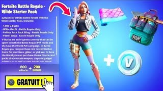 HOW TO THE FREE PACK ON FORTNITE!