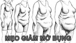 Mẹo Vặt Cuộc Sống - Mẹo giảm mỡ bụng cực hiệu quả