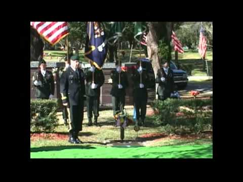 Staff Sgt. Miller Medal of Honor Memorial Stone Unveiling