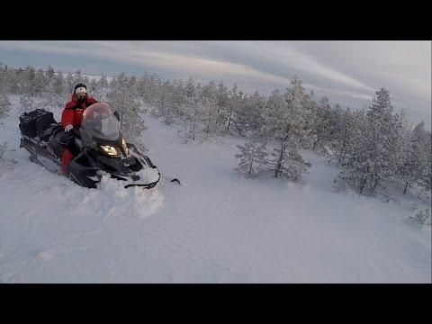 Открытие сезона 2017(ski-doo skandic wt 900 ACE,Armi 600 e-tec)