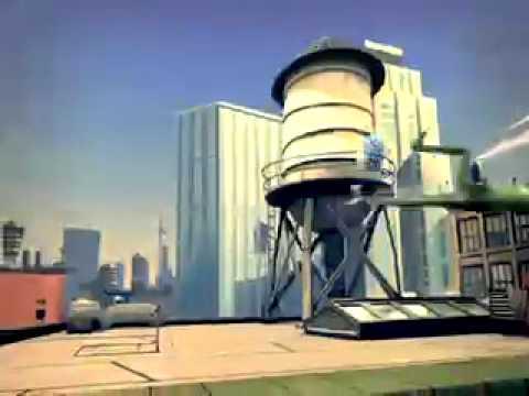 Vidéo Les Gees (Sur Le Toit) (Gulli TV)