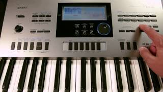 Casio CTK 6300IN : How to Edit Sequencer in Casio CTK 6300 Indian Electronic Music Keyboard
