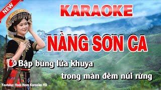 Karaoke Nàng Sơn Ca - nang son ca karaoke nhac song
