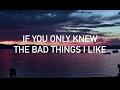 Machine Gun Kelly, Camila Cabello - Bad Things (live acoustic, with lyrics)