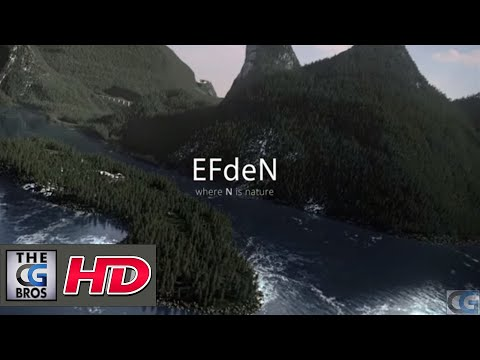 """CGI 3D Animated Promo Short : """"EFdeN: Where N is Nature"""" - by UmbrellaFX"""