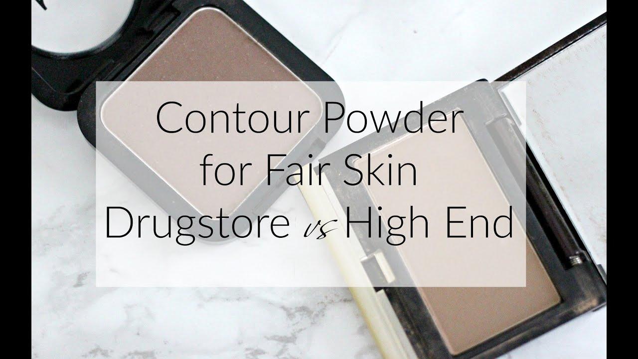 Contour Powder For Fair Skin Drugstore Vs High End