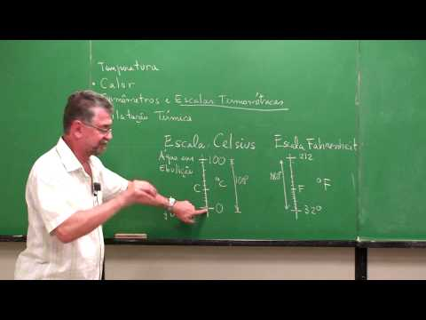 Termologia - Parte 2 - Escalas Celsius e Fahrenheit | Vídeo Aulas de Física Online Grátis