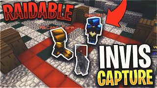 we made them RAIDABLE after I tried INVIS CAPPING KOTH... *30 MINUTE SPECIAL* | Minecraft HCF