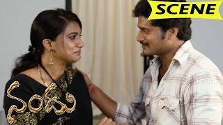 Triveni Reveals Her Flashback To Vinod - Climax Emotional Scene || Nandu Movie Scenes