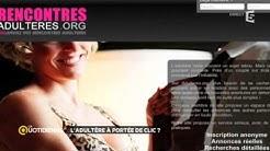 Rencontres extra-conjugales: quand l'adultère est à portée de clic